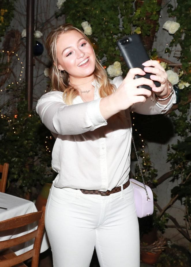 Iskra Lawrence - AerieREAL Role Models Dinner Party in New York