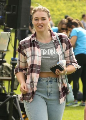 Iskra Lawrence at Neda Walk Event in Los Angeles