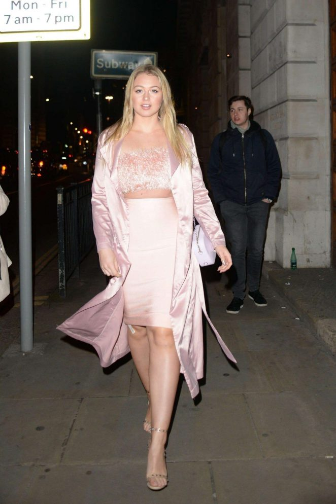 Iskra Lawrence - Attending at Wonderland Magazine x MTV Party in London