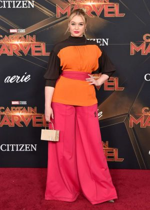 Iskra Lawrence - 'Captain Marvel' Premiere in Los Angeles
