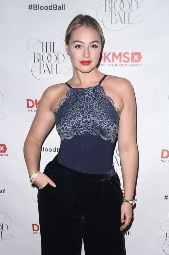 Iskra Lawrence - DKMS 2016 Blood Ball in NYC