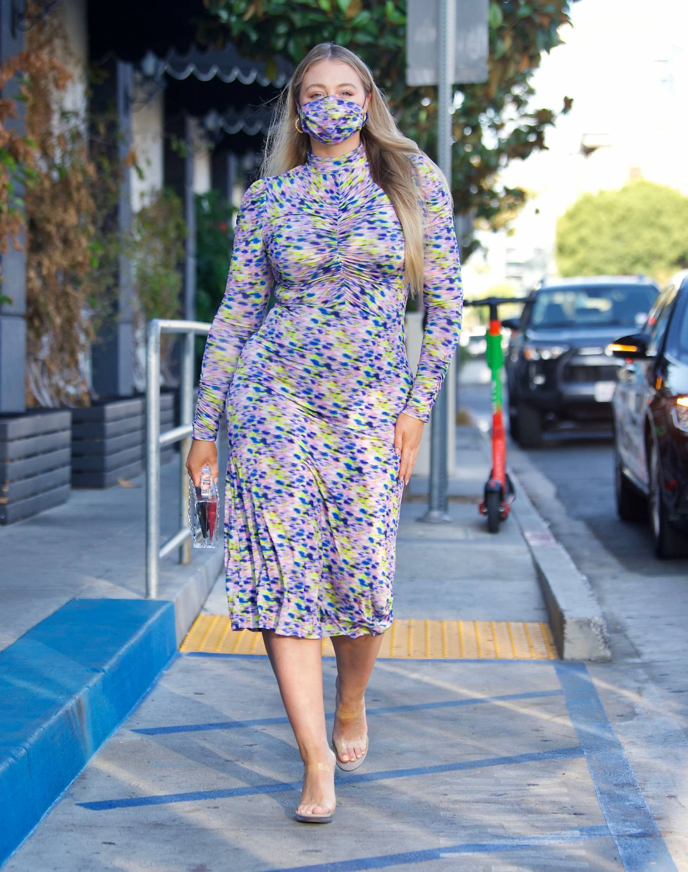 Iskra Lawrence - In a Tanya Taylor Dress