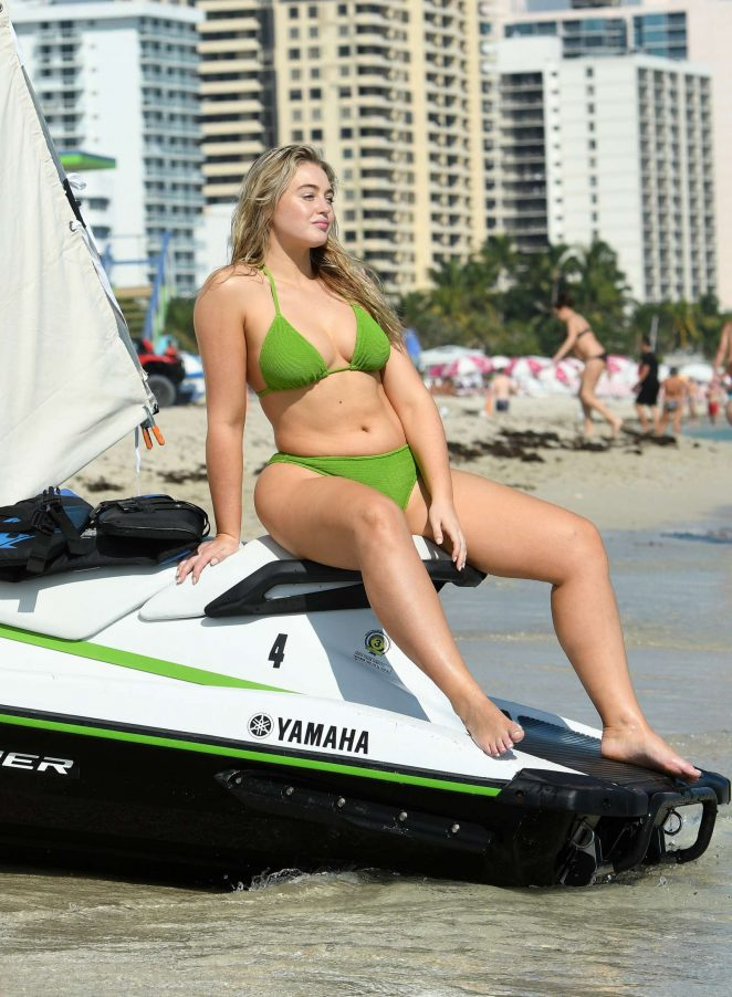Iskra Lawrence in Bikinis and Swimsuits 2018 -34