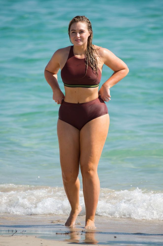 Iskra Lawrence in Bikinis and Swimsuits 2018 -37
