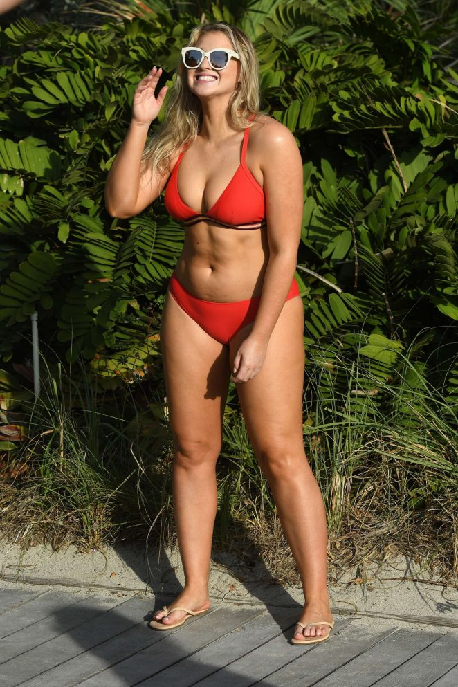 Iskra Lawrence in Bikinis and Swimsuits 2018 -43