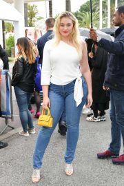 Iskra Lawrence in Jeans - On the Croisette in Cannes