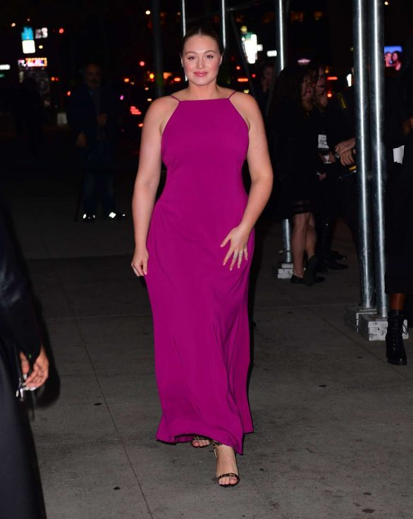 Iskra Lawrence in Long Dress - Out in New Jersey