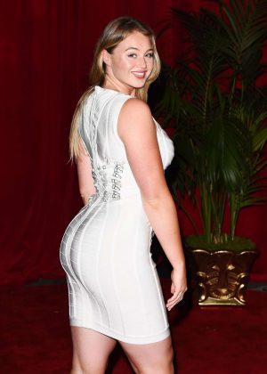 Iskra Lawrence - Maxim Hot 100 event in Hollywood