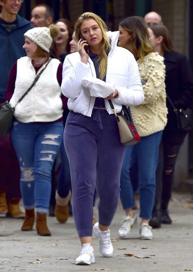 Iskra lawrence out and about in New York City -09