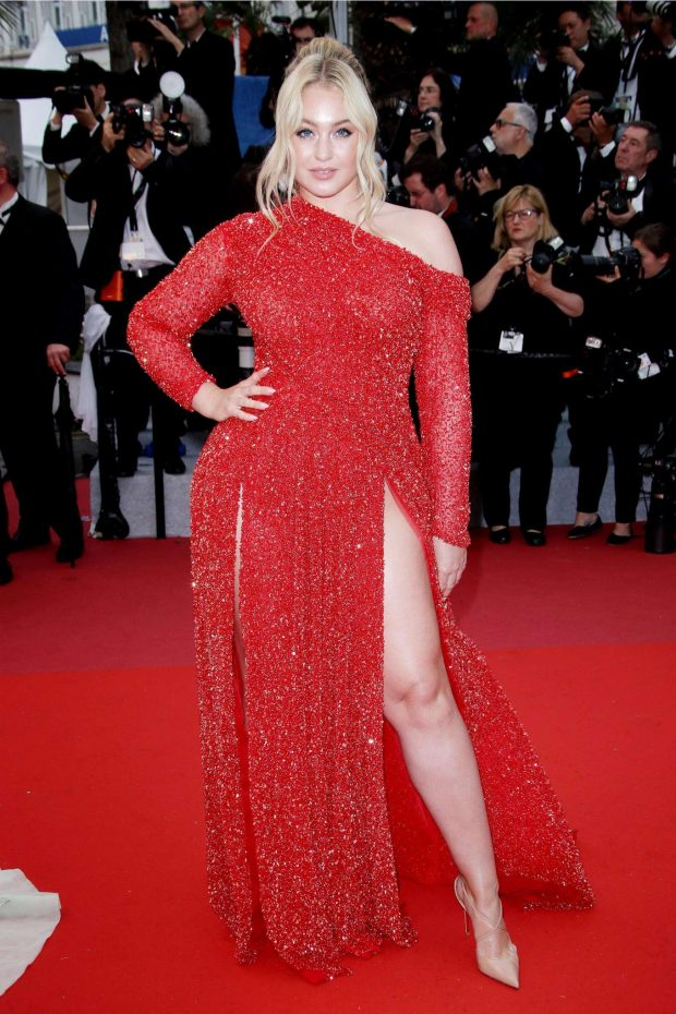 Iskra Lawrence - 'The Best Years of  Life' Premiere at 2019 Cannes Film Festival