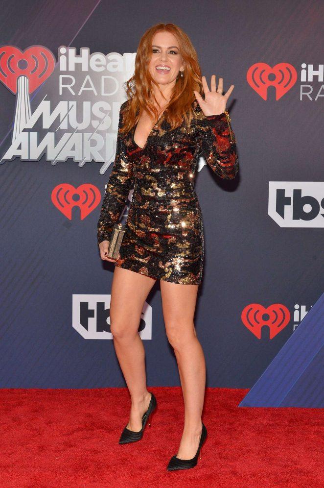 Isla Fisher - 2018 iHeartRadio Music Awards in Inglewood