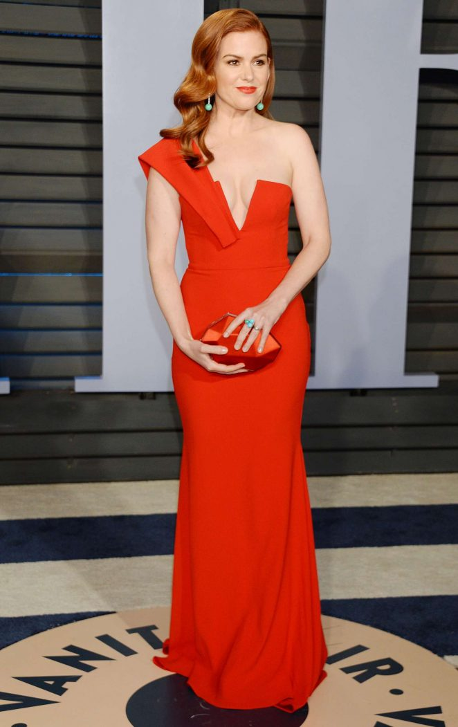 Isla Fisher - 2018 Vanity Fair Oscar Party in Hollywood
