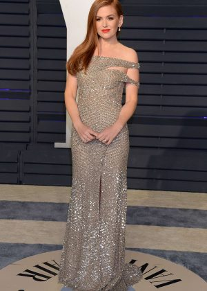Isla Fisher - 2019 Vanity Fair Oscar Party in Beverly Hills