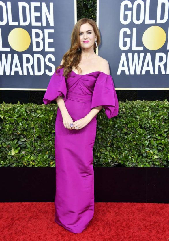 Isla Fisher - 2020 Golden Globe Awards in Beverly Hills