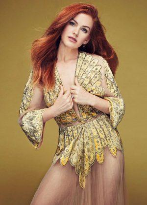 Isla Fisher - Glamour Mexico Magazine (October 2016)