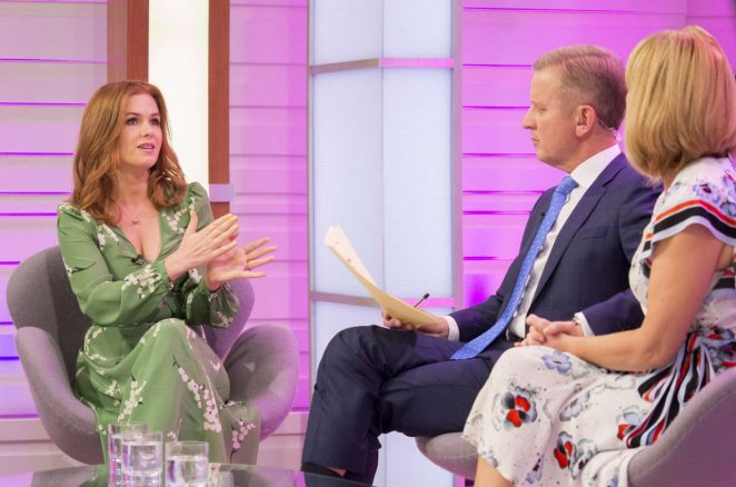 Isla Fisher: Good Morning Britain TV Show -01