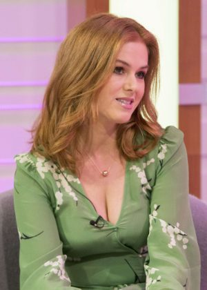 Isla Fisher - 'Good Morning Britain' TV Show in London