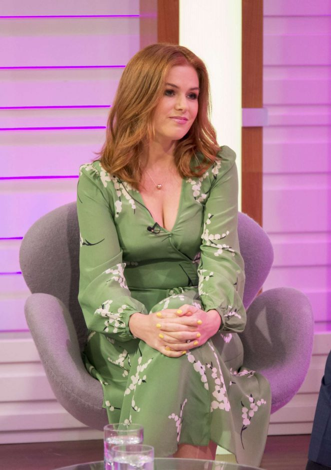 Isla Fisher: Good Morning Britain TV Show -17