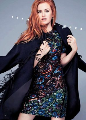Isla Fisher - Grazia UK Magazine (May 2018)