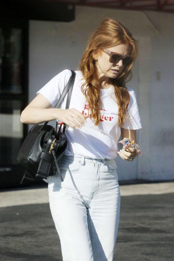 Isla Fisher - Leaves CVS store in LA