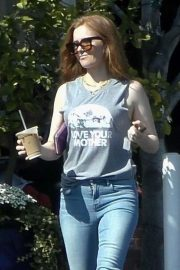 Isla Fisher - Leaving Fred Segal in West Hollywood