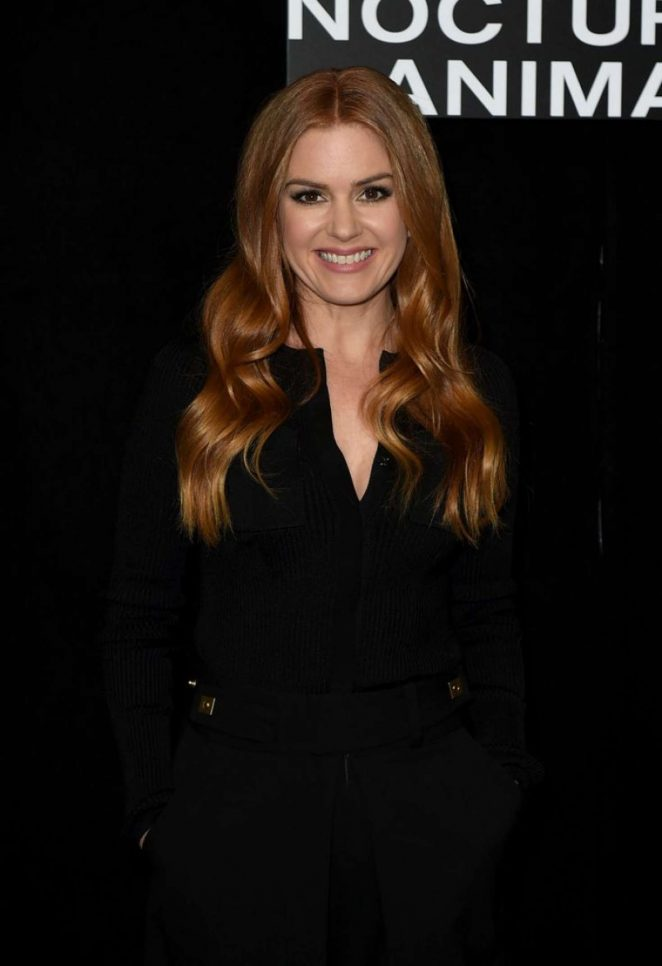 Isla Fisher - 'Nocturnal Animals' Photocall in LA