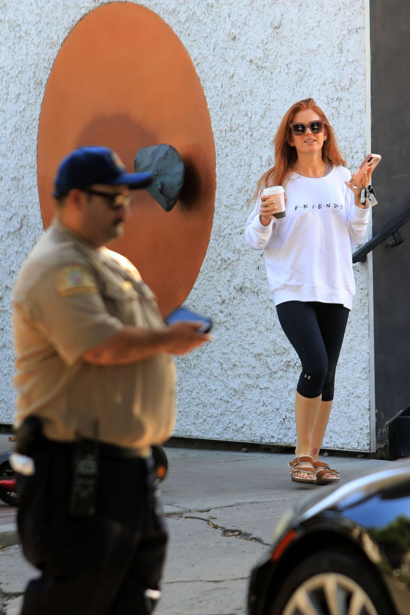 Isla Fisher 2019 : Isla Fisher – Out for a coffee on Melrose Place-18
