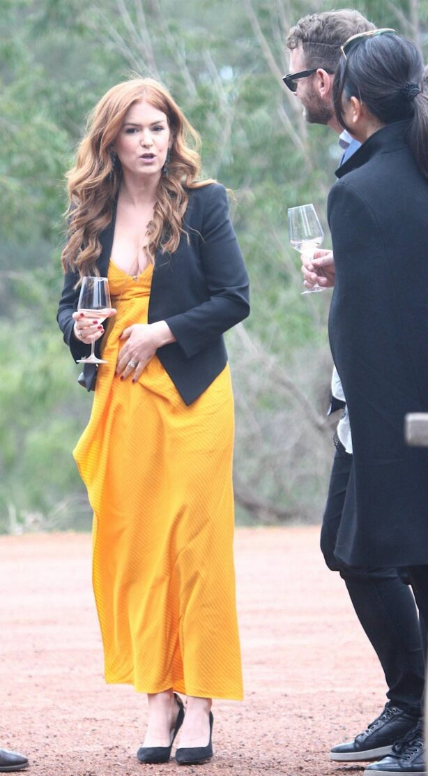 Isla Fisher - Pictured at the Forester Wine Tasting Event in Western Australia