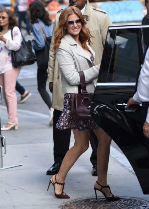 Isla Fisher - Seen at AOL Build in NYC