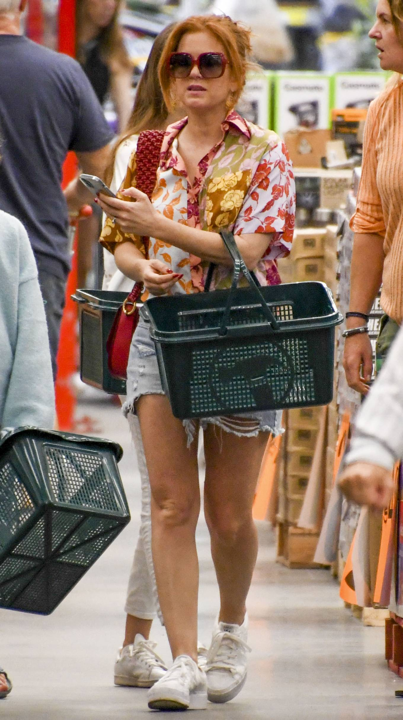 Isla Fisher - Seen at local hardware store in Sydney to check out BBQs