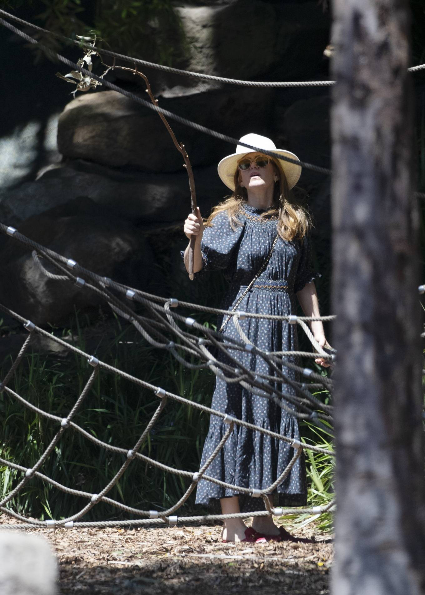 Isla Fisher - Spotted at Dickson reserve in Sydney