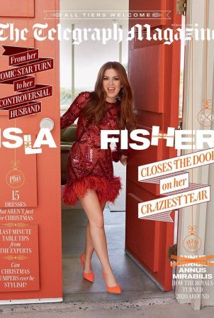 Isla Fisher - The Telegraph Magarine 2020