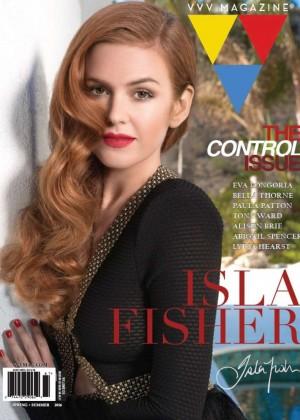 Isla Fisher - VVV Magazine (Spring/Summer 2016)