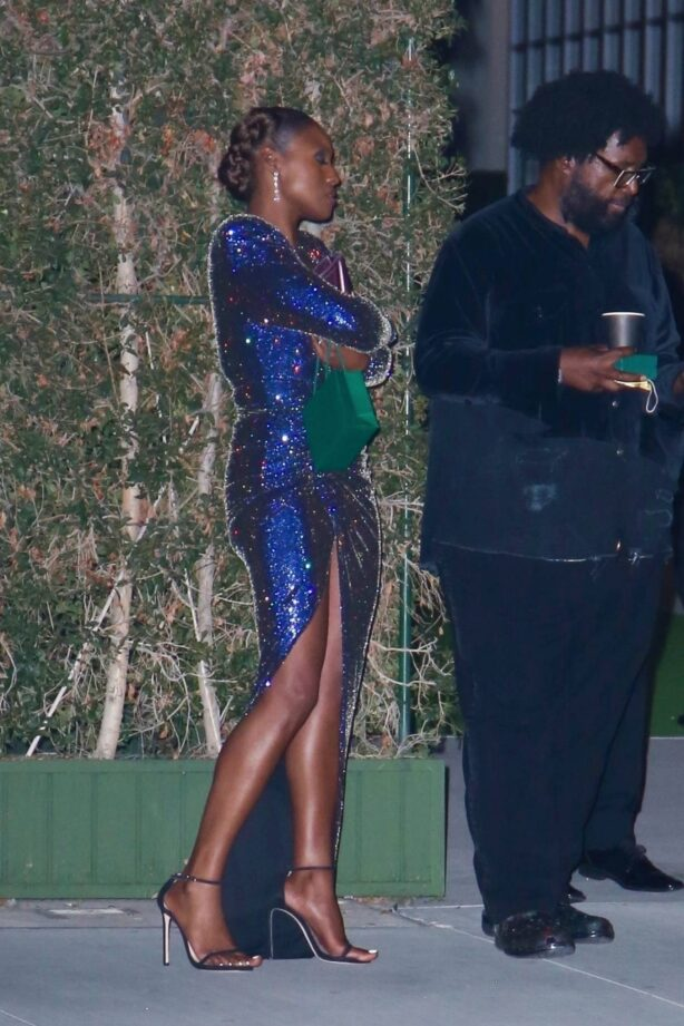 Issa Rae - outside the Academy Museum of Motion Pictures Opening Gala in Los Angeles