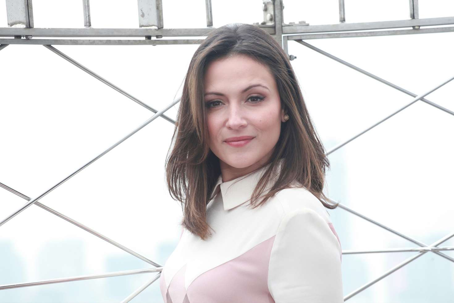 Italia Ricci Promotes Designated Survivor at Empire State