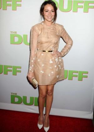 """Italia Ricci - """"The Duff"""" Premiere in Los Angeles"""