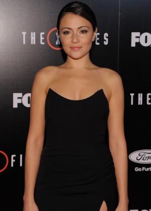 Italia Ricci - 'The X-Files' Premiere in LA