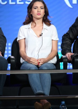 Ivana Baquero - 2016 Winter TCA Tour in Pasadena