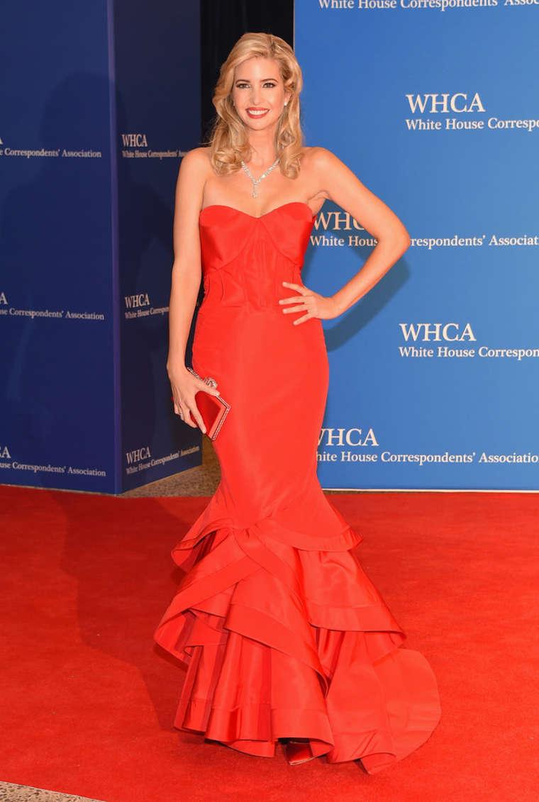 Ivanka Trump 2015 : Ivanka Trump: 2015 White House Correspondents Association Dinner -03