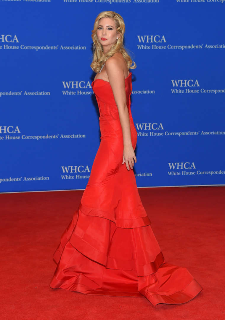 Ivanka Trump 2015 : Ivanka Trump: 2015 White House Correspondents Association Dinner -05