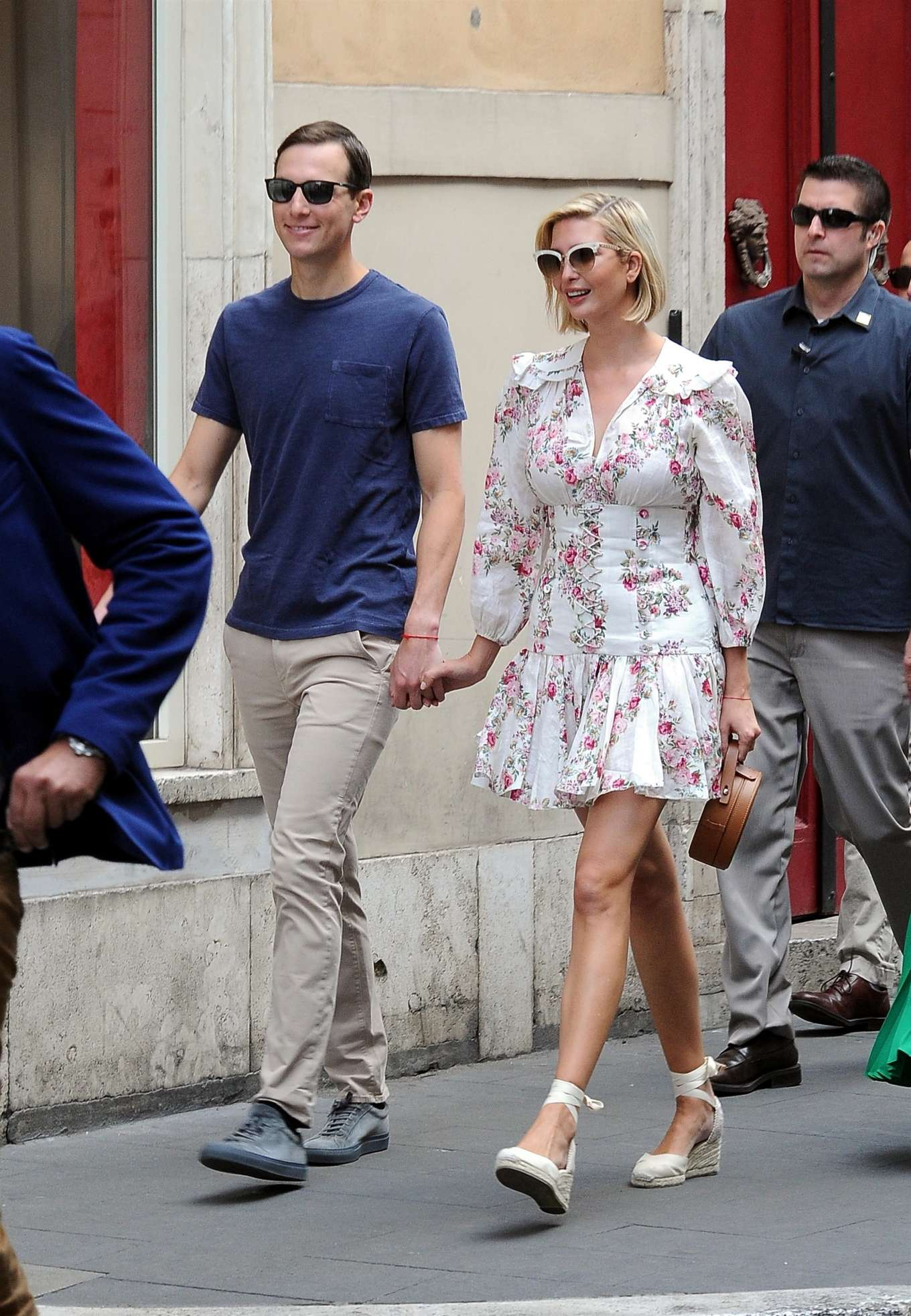 Ivanka Trump 2019 : Ivanka Trump and her husband Jared Kushner – Out in Rome-03