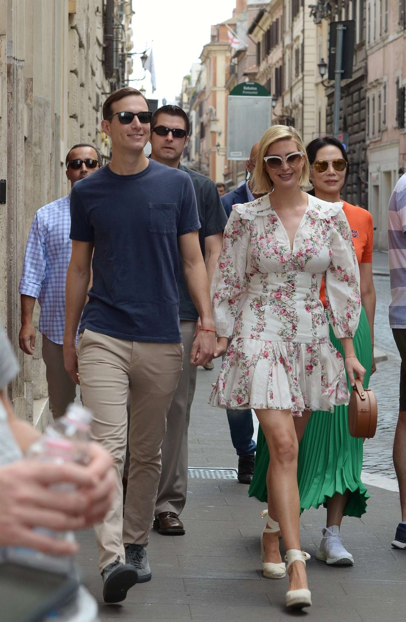 Ivanka Trump 2019 : Ivanka Trump and her husband Jared Kushner – Out in Rome-07