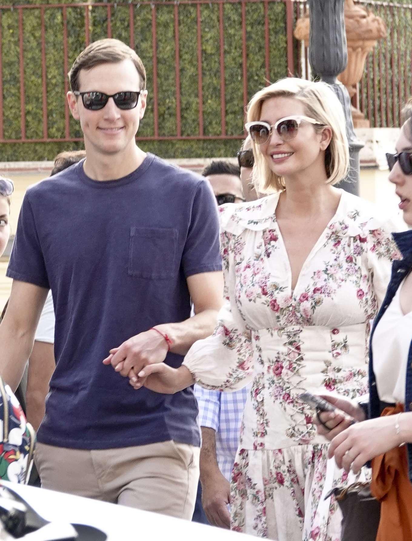 Ivanka Trump 2019 : Ivanka Trump and her husband Jared Kushner – Out in Rome-08