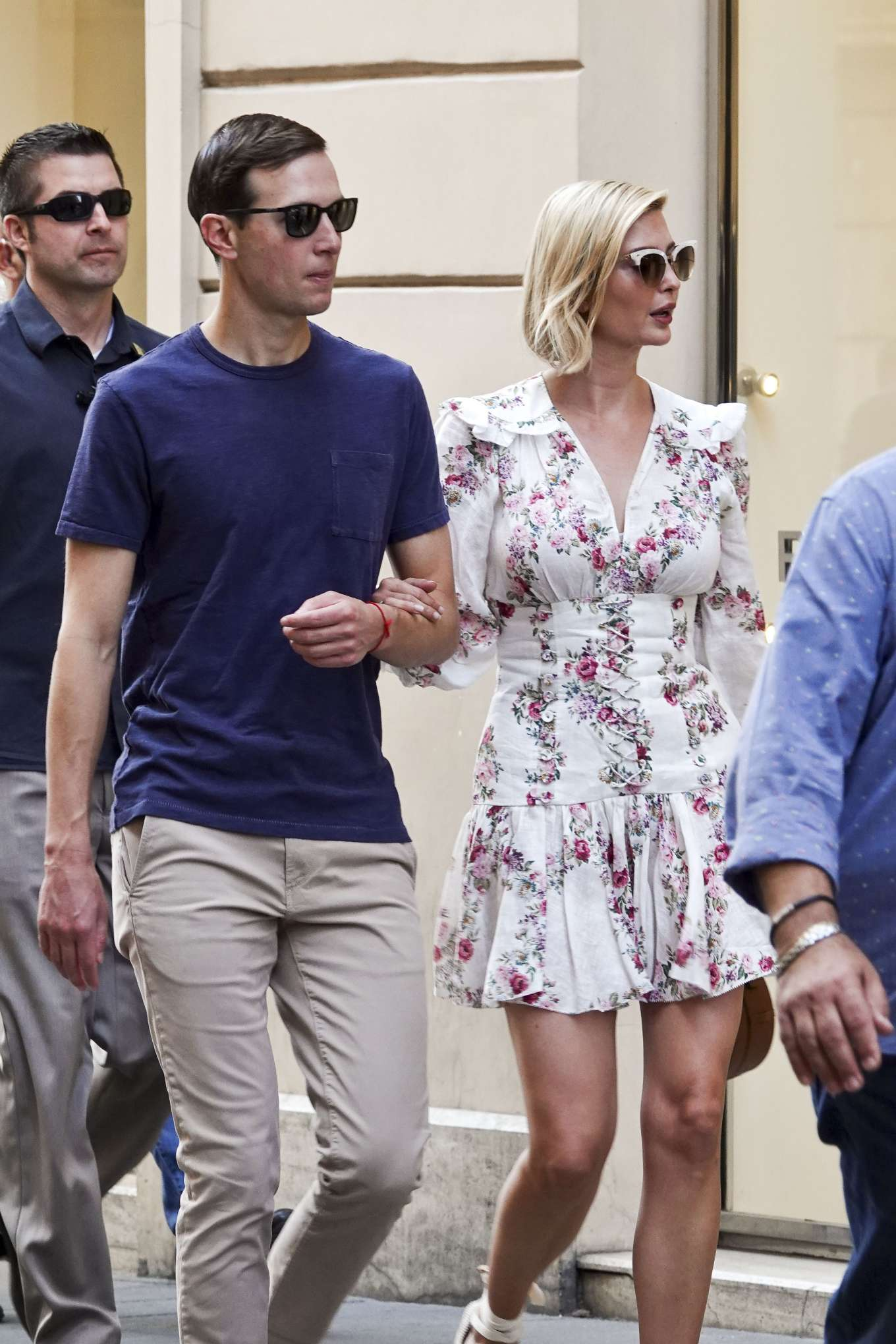 Ivanka Trump 2019 : Ivanka Trump and her husband Jared Kushner – Out in Rome-11