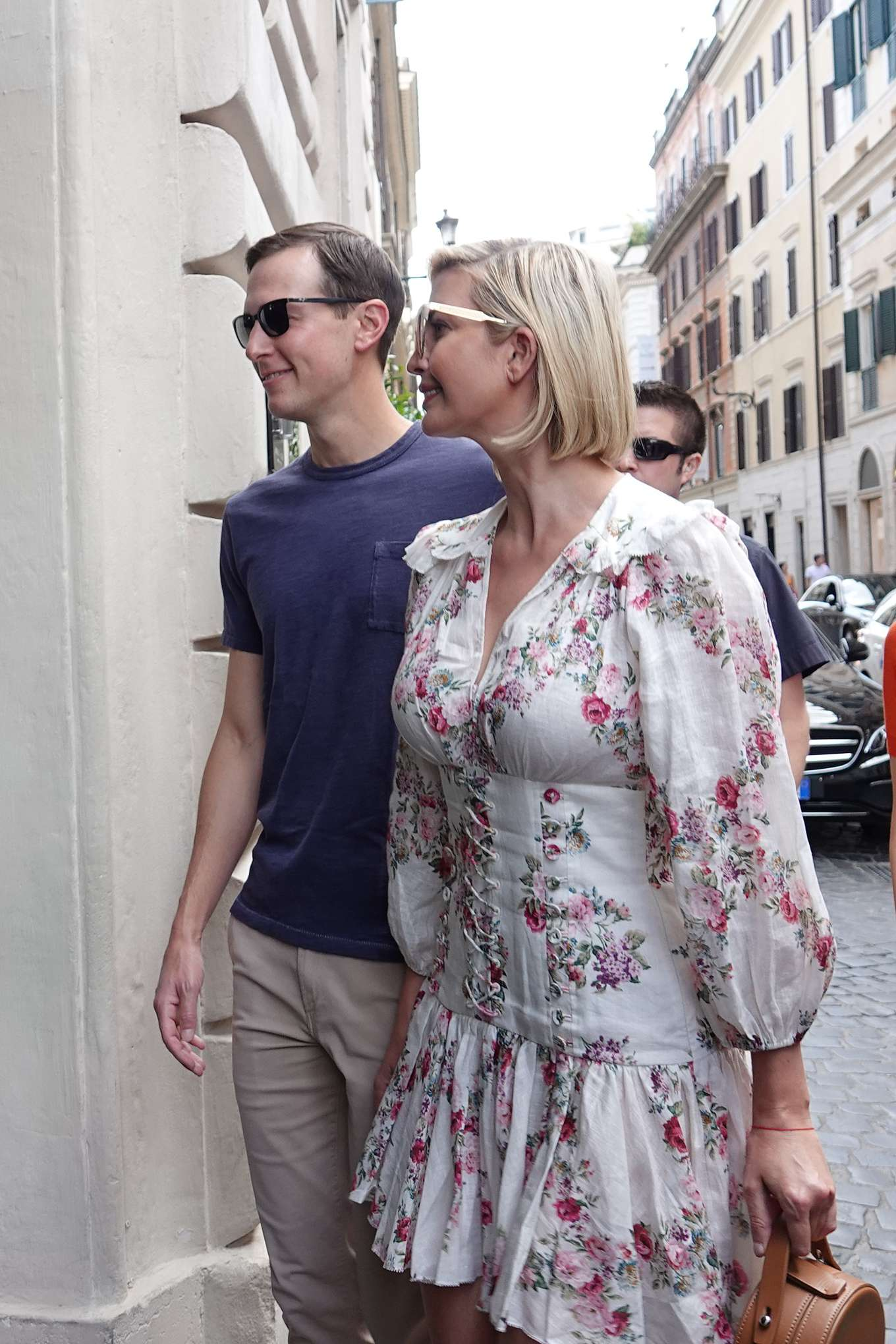 Ivanka Trump 2019 : Ivanka Trump and her husband Jared Kushner – Out in Rome-15
