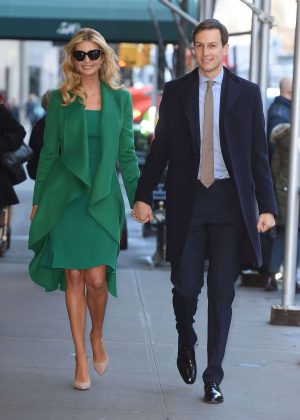 Ivanka Trump and Jared Kushner out and about in New York