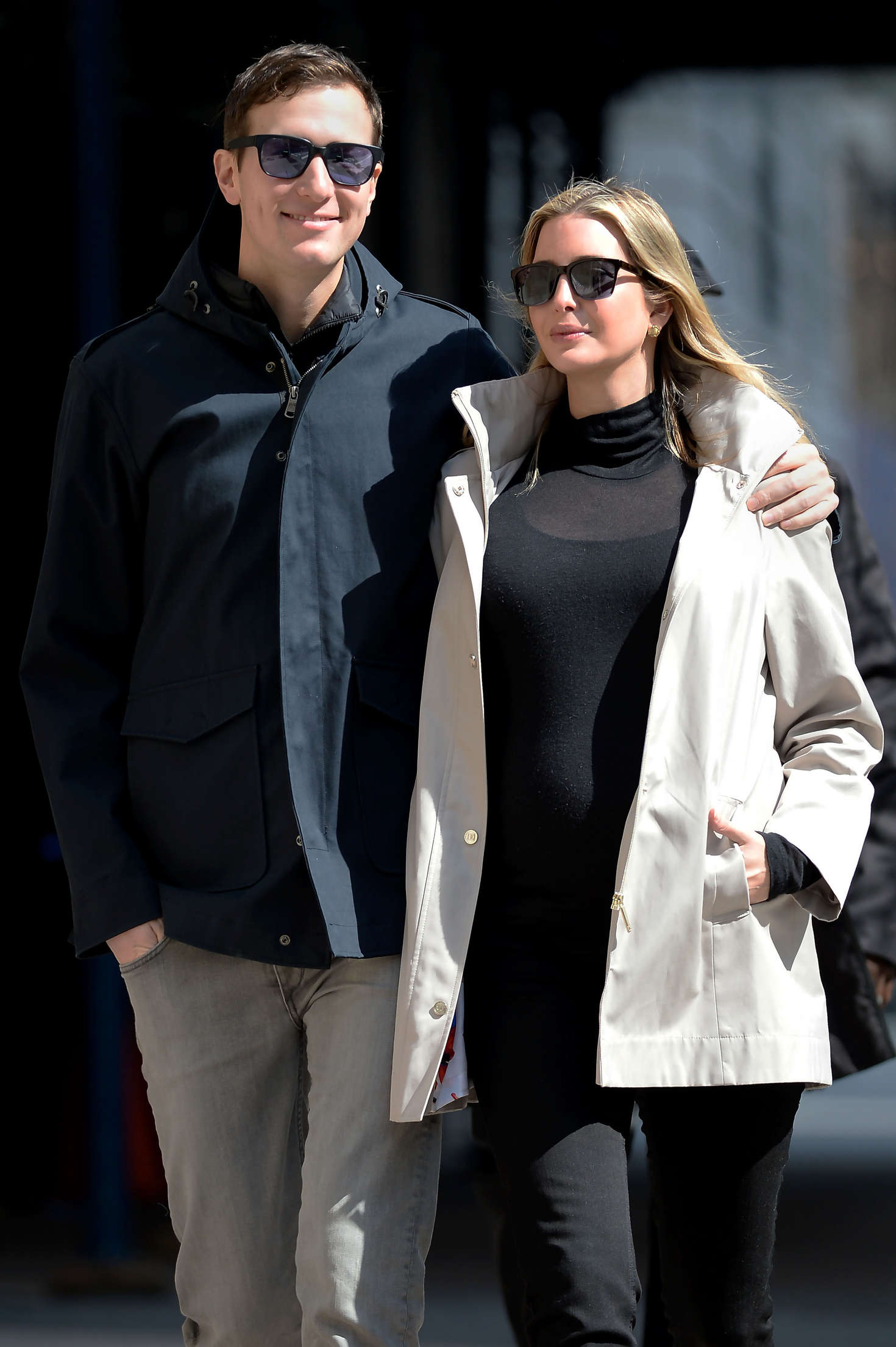 Ivanka Trump and Jared Kushner out in NYC