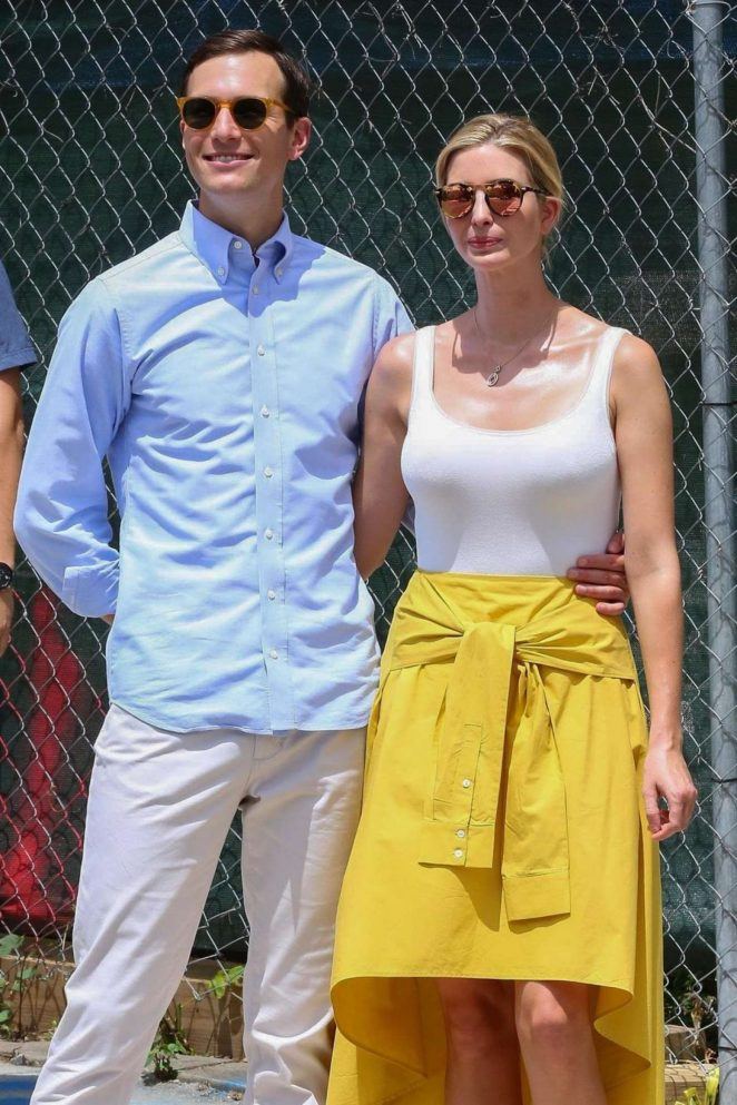 Ivanka Trump And Jared Kushner Out in Washington