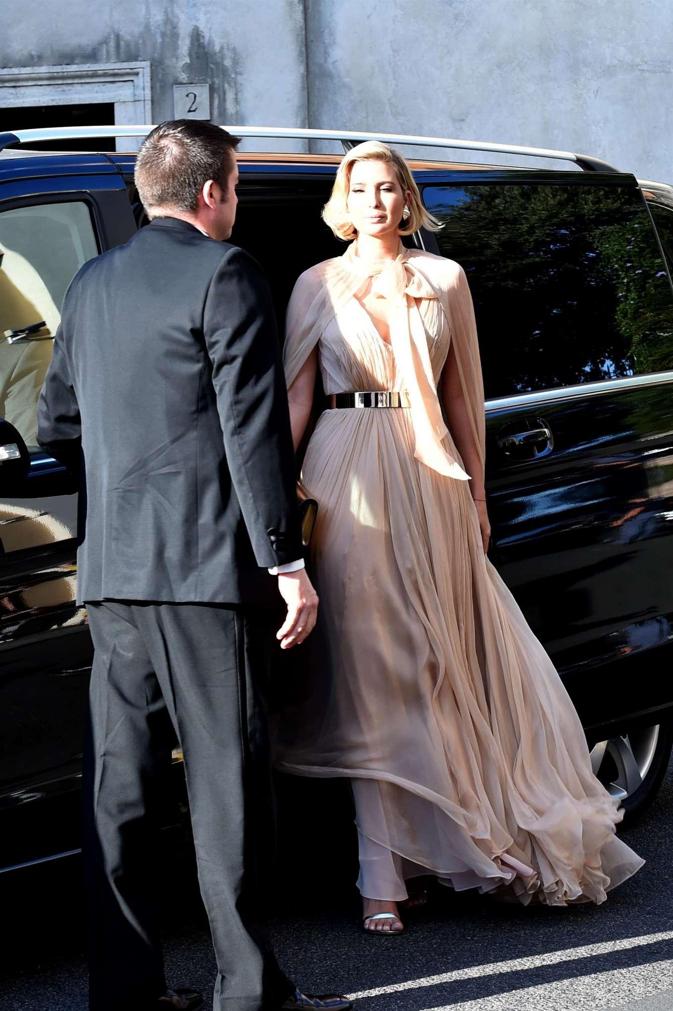 Ivanka Trump 2019 : Ivanka Trump – Attend Misha Nonoos wedding in Rome-01