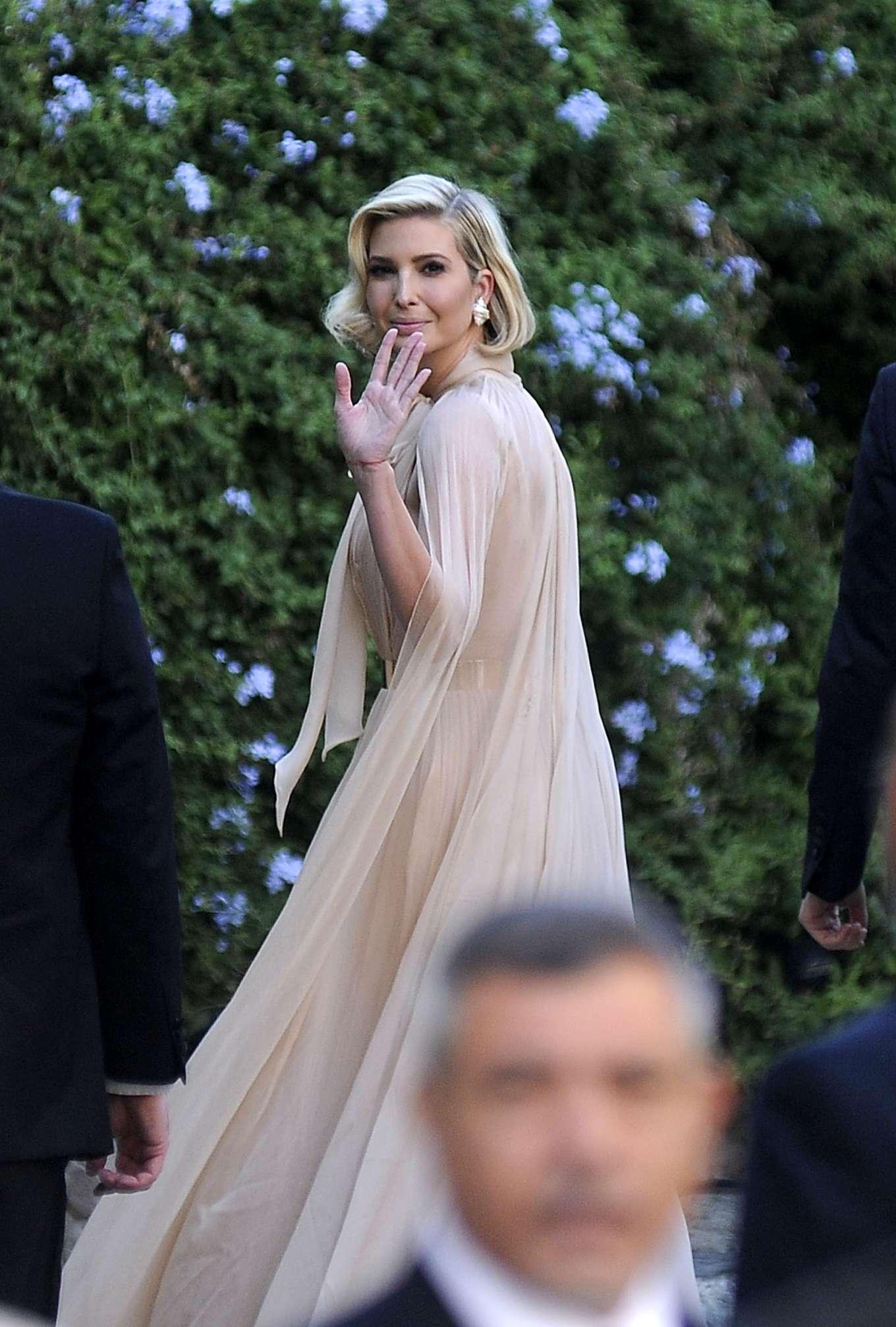 Ivanka Trump 2019 : Ivanka Trump – Attend Misha Nonoos wedding in Rome-02